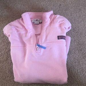 quarter zip shep sweater